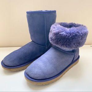 UGG Classic Short Blueberry boots women's 8